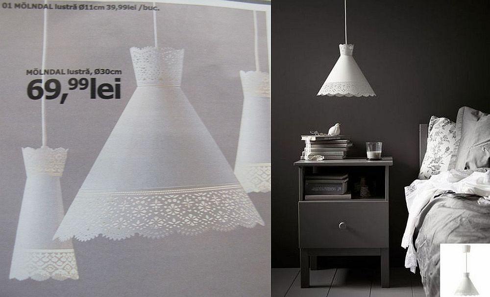 adelaparvu.com despre lustra Molndal 69,99 lei, piese ieftine si bune de la IKEA, colectia 2015