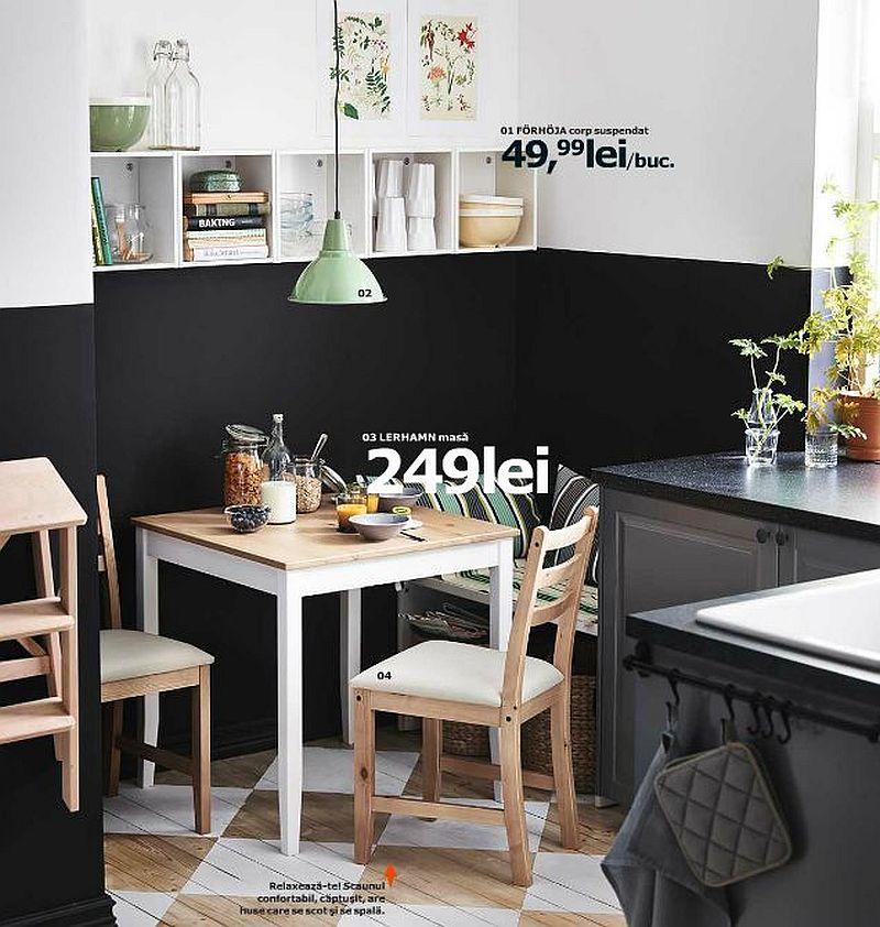 adelaparvu.com despre masa Lerhamn 249 lei lei, piese ieftine si bune de la IKEA, colectia 2015 (1)