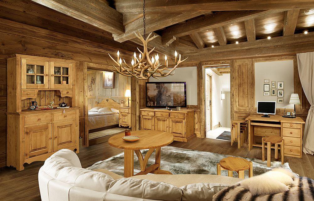 adelaparvu.com despre mobila pentru cabane, mobila in stil alpin elvetian Transilvania Production (5)