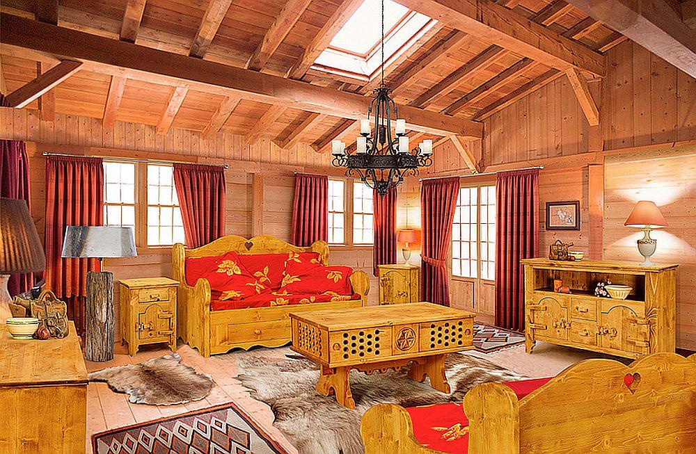 adelaparvu.com despre mobila pentru cabane, mobila in stil alpin elvetian Transilvania Production (8)