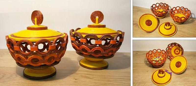 adelaparvu.com despre obiecte din hartie si materiale reciclate, design Andrei Radu, Weengf Design (10)