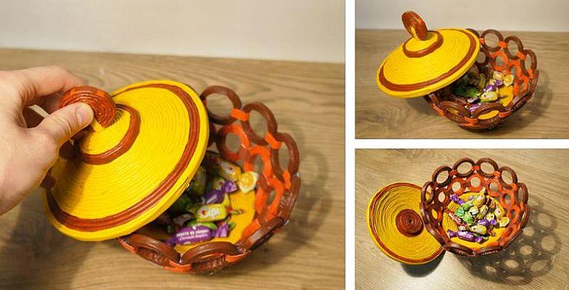 adelaparvu.com despre obiecte din hartie si materiale reciclate, design Andrei Radu, Weengf Design (12)