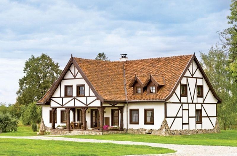 adelaparvu.com despre pensiunea turistica, casa in stil rustic, Mazurskie Siedlisko Kruklin, Polonia (1)