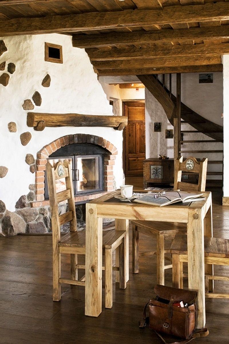 adelaparvu.com despre pensiunea turistica, casa in stil rustic, Mazurskie Siedlisko Kruklin, Polonia (3)