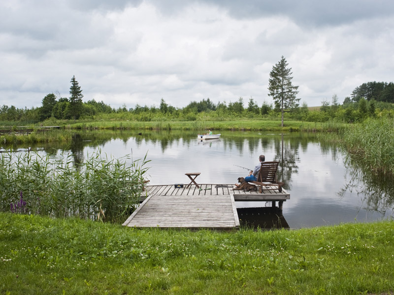 adelaparvu.com despre pensiunea turistica, casa in stil rustic, Mazurskie Siedlisko Kruklin, Polonia (38)