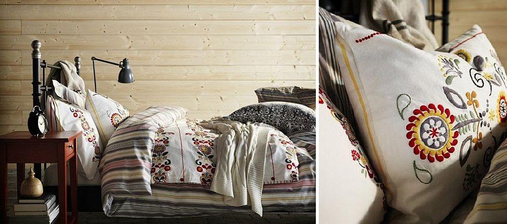 adelaparvu.com despre perna brodata Akerkulla 59,99 lei, piese ieftine si bune de la IKEA, colectia 2015