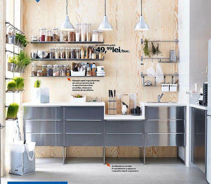 adelaparvu.com despre polita Limhamn 49,99 lei piese ieftine si bune de la IKEA, colectia 2015 (2)
