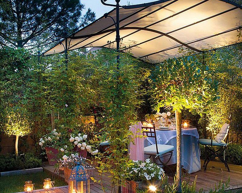 adelaparvu.com despre terasa in gradina mica cu pergola din fier, peisagist  Javier Álvarez de Eulate (8)