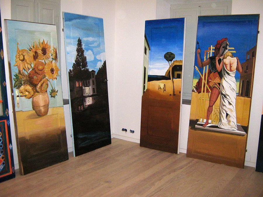 adelaparvu.com despre usi pictate, artist Andrei Radu (3)