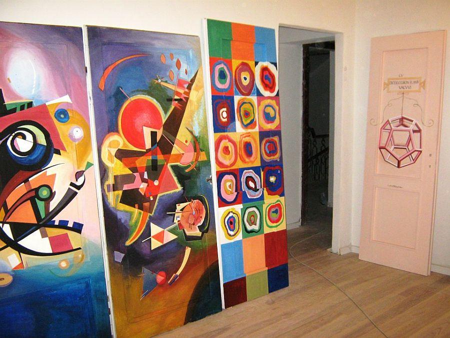 adelaparvu.com despre usi pictate, artist Andrei Radu (5)