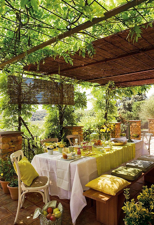 adelaparvu.com terasa cu glicina, arhitect Eduardo Campoamor, Foto ElMueble (5)
