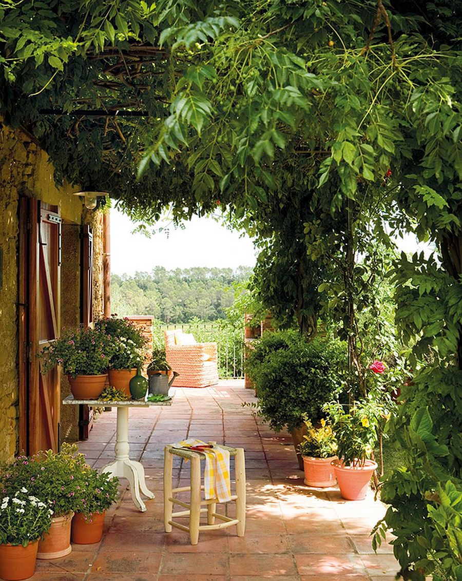 adelaparvu.com terasa cu glicina, arhitect Eduardo Campoamor, Foto ElMueble (7)