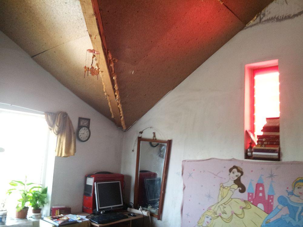 adelaparvu.com despre Casa Maria Moldoveanu din emidiunea Visuri la Cheie ProTV, casa inainte de renovare (4)