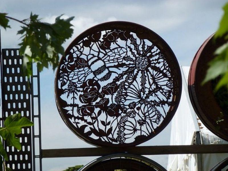 adelaparvu.com despre Gradina cu materiale reciclate, designeri Jeni Cairns, Sophie Antonelli, RHS Hampton Court Flower Show 2014 (17)