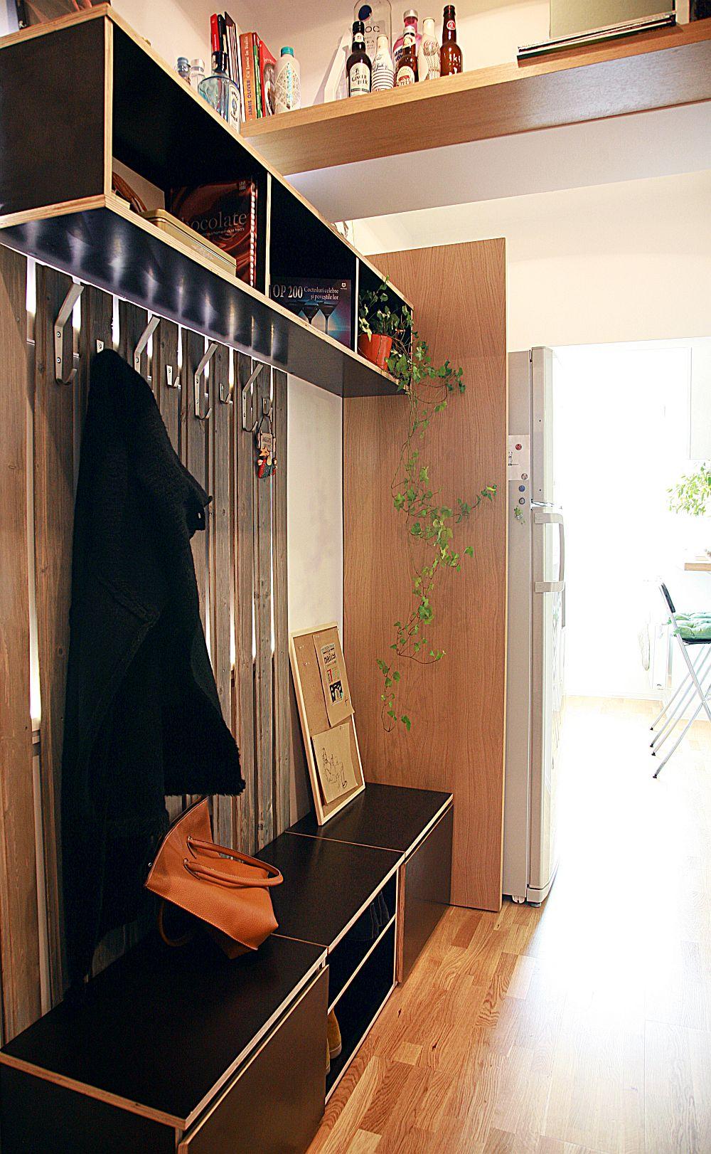 adelaparvu.com despre apartament de doua camere in Bucuresti ingenios amenajat, design ValDecor, Foto Alia Bakutayan (2)