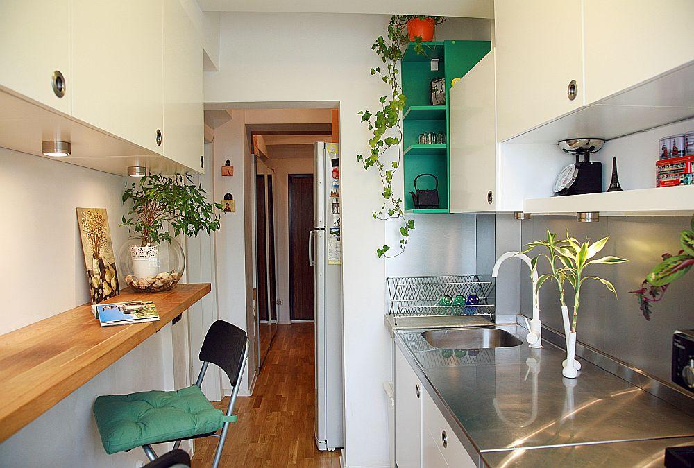 adelaparvu.com despre apartament de doua camere in Bucuresti ingenios amenajat, design ValDecor, Foto Alia Bakutayan (6)