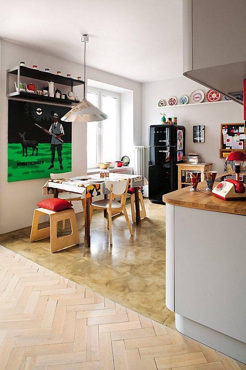 adelaparvu.com despre apartament eclectic in cladire veche, Foto Mariusz Bykowski (11)