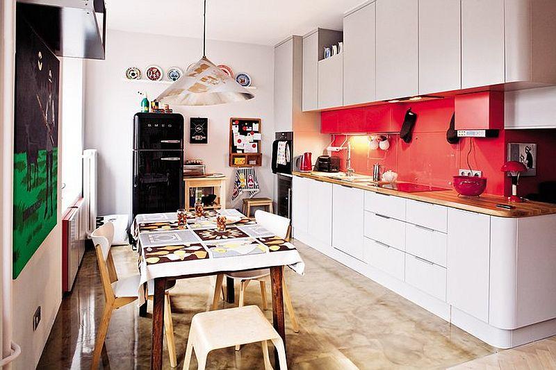 adelaparvu.com despre apartament eclectic in cladire veche, Foto Mariusz Bykowski (3)