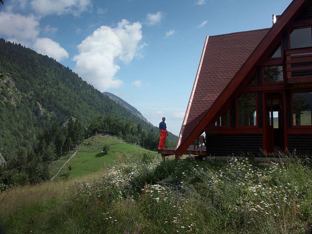 adelaparvu.com despre casa de munte Bucegi, casa din lemn, arh Adina Samoil