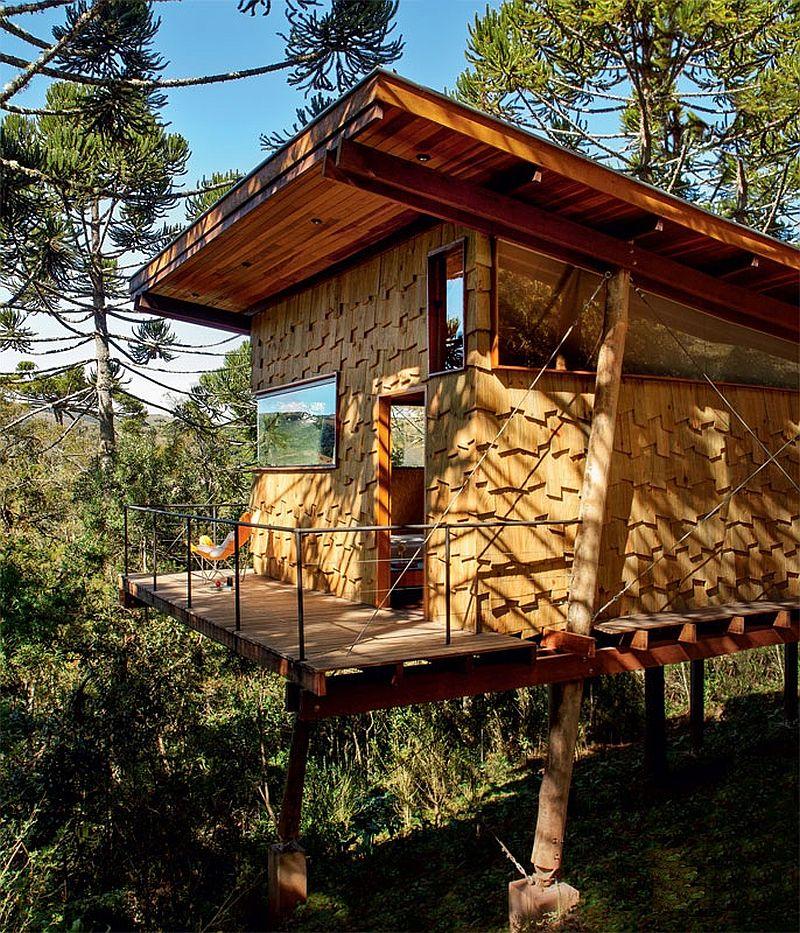 adelaparvu.com despre casa de vacanta duplex pe un teren in panta, arhitect Andre Eisenlohr  (2)