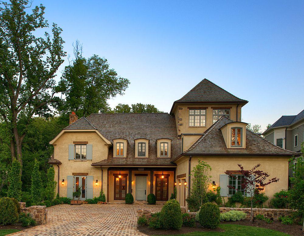 adelaparvu.com despre casa in stil rustic francez, proiect Barnes Vanze Architects, Foto Anice Hoachlander  (1)
