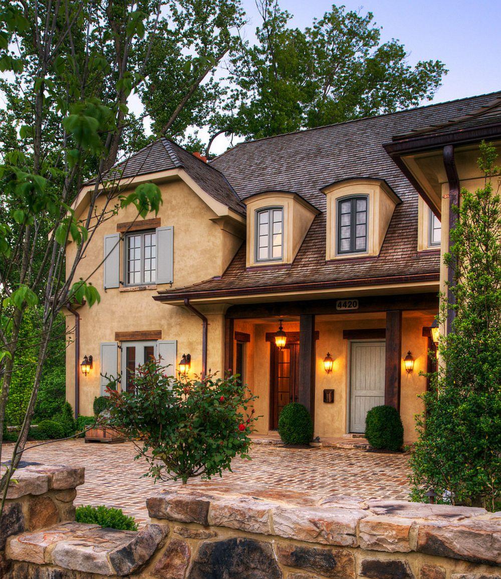 adelaparvu.com despre casa in stil rustic francez, proiect Barnes Vanze Architects, Foto Anice Hoachlander  (2)