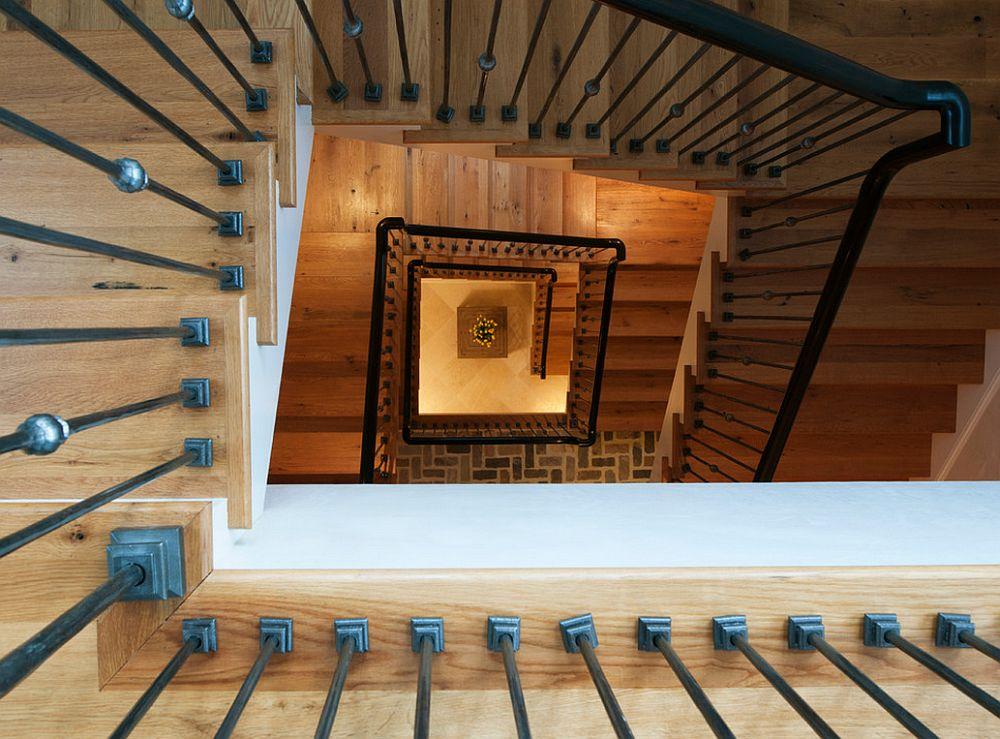 adelaparvu.com despre casa in stil rustic francez, proiect Barnes Vanze Architects, Foto Anice Hoachlander  (6)