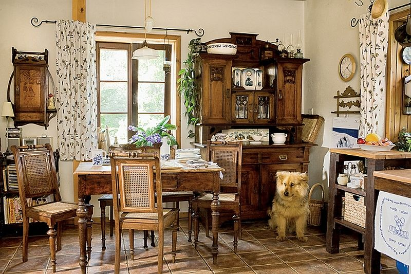 adelaparvu.com despre casa la tara in Polonia, proprietari Marzena si Richard Zwierowiczowie, Foto Weranda Country (17)