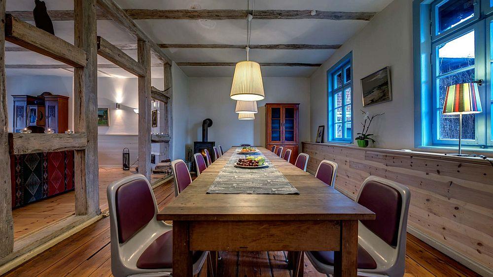 adelaparvu.com despre casa la tara modernizata, casa Germania, Ehemaliger Gasthof, Foto Traumhaff  (15)