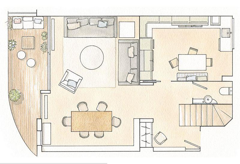 adelaparvu.com despre casa pentru familie reorganizata, foto ElMueble (13)