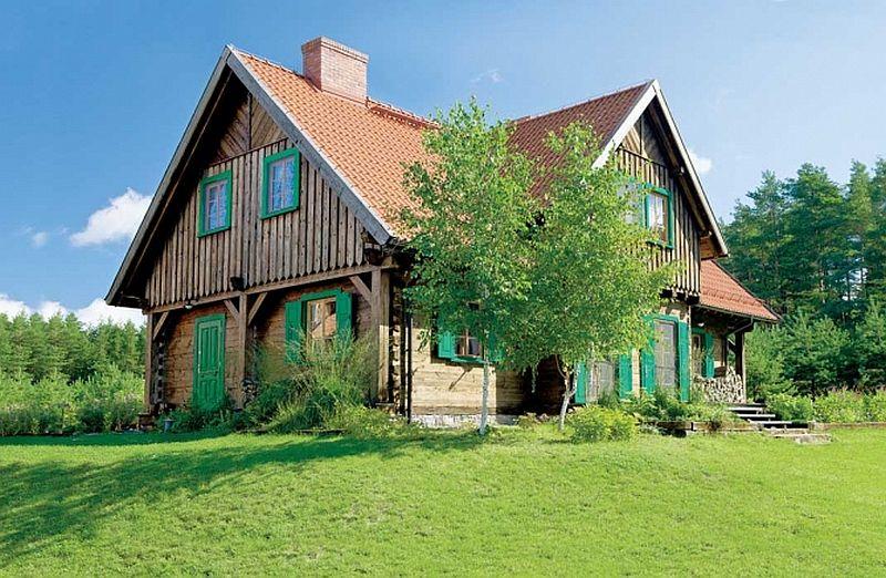 adelaparvu.com despre casa rustica la tara, casa Polonia, Foto Weranda Country (3)