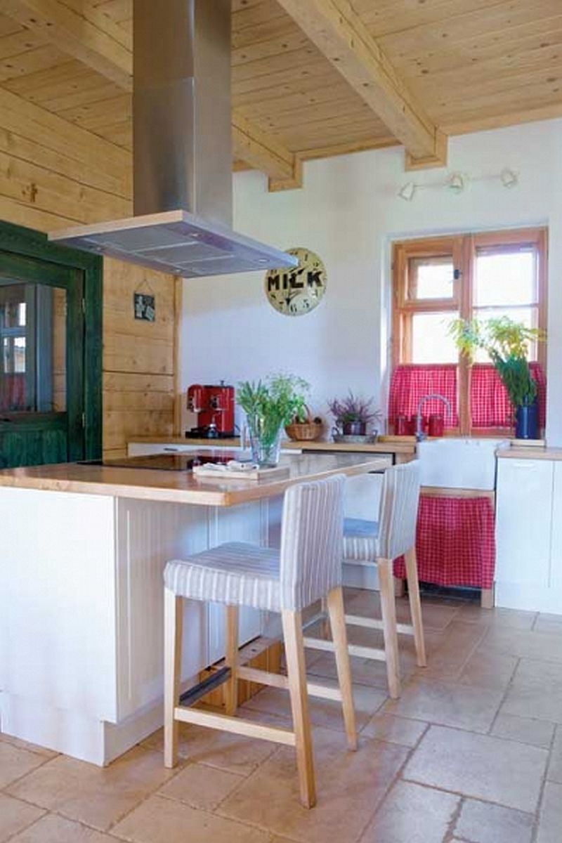 adelaparvu.com despre casa rustica la tara, casa Polonia, Foto Weranda Country (8)