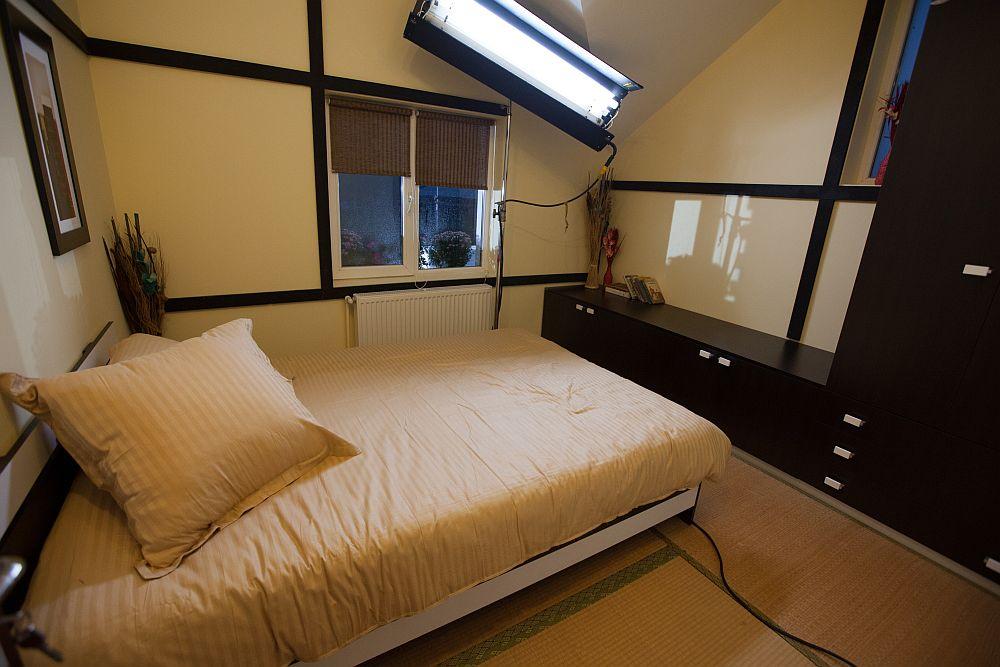 adelaparvu.com despre dormitor Casa Maria Moldoveanu din emisiunea Visuri la cheie, ProTV (18)