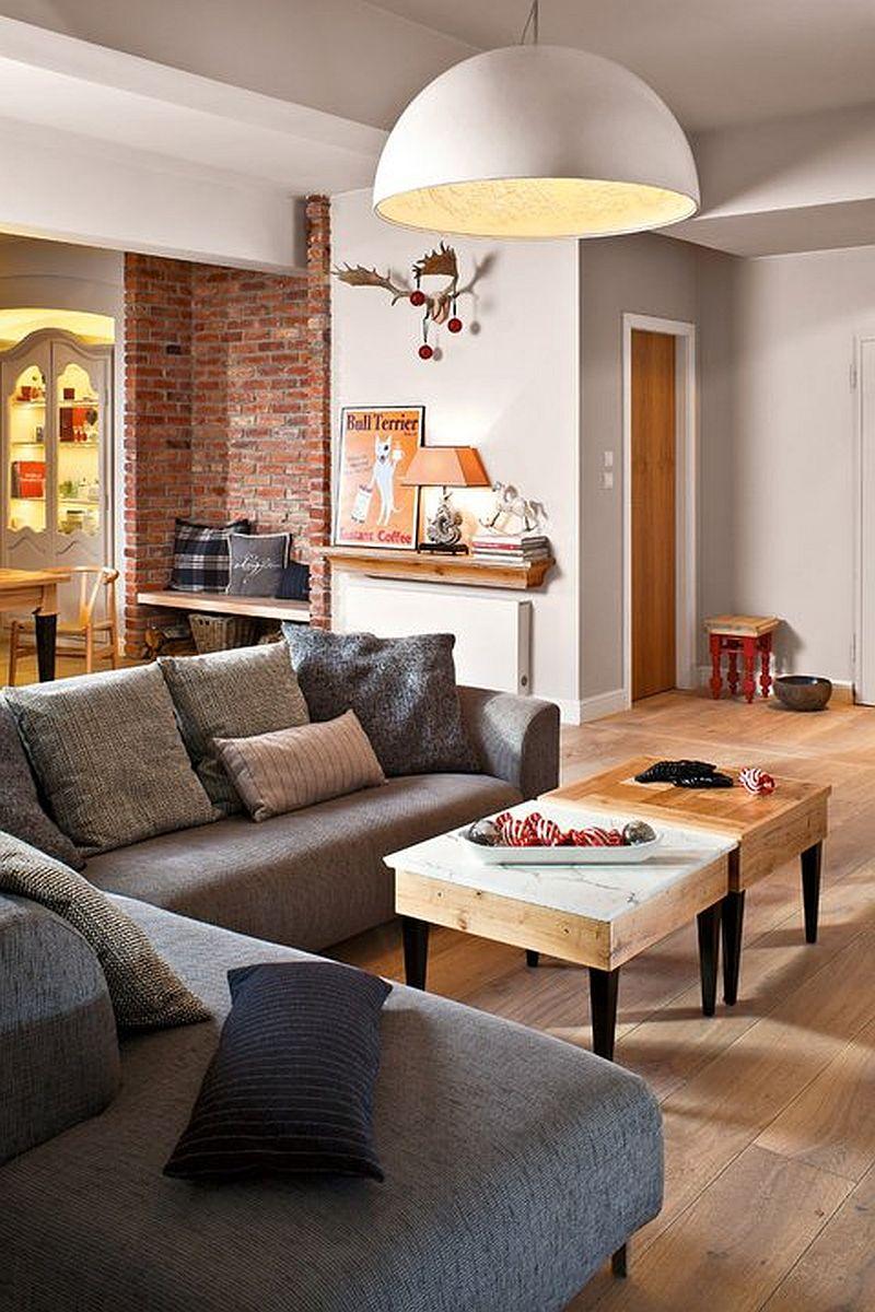 adelaparvu.com despre locuinta din doua apartamente, foto Urzadzamy  (7)