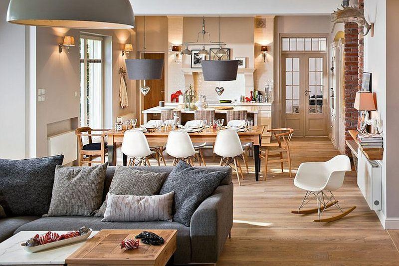 adelaparvu.com despre locuinta din doua apartamente, foto Urzadzamy  (8)