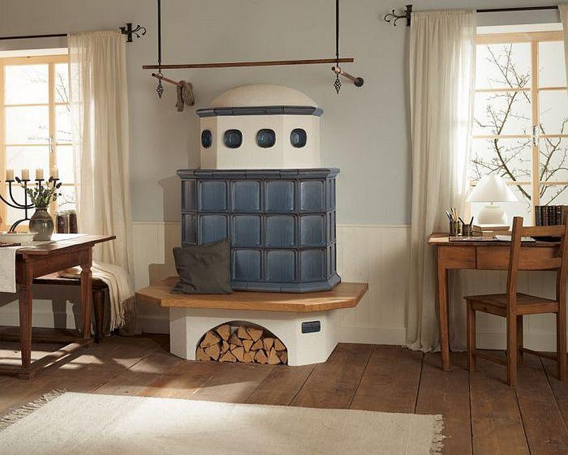 adelaparvu.com despre mobilier in jurul sobelor de teracota, banci pentru sobele de teracota (2)