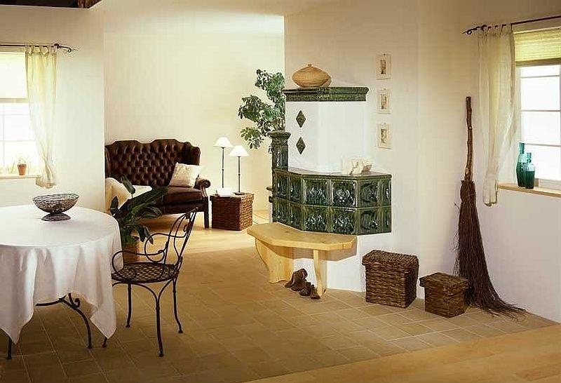 adelaparvu.com despre mobilier in jurul sobelor de teracota, banci pentru sobele de teracota (3)