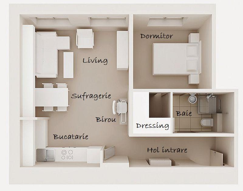 adelaparvu.com amenajare apartament doua camere, 43 mp, design interior Hokum, Foto  Cztery Kąty (8)