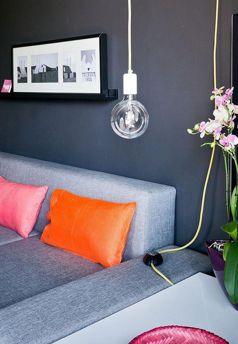 adelaparvu.com despre apartament de doua camere indraznet amenajat, design interior Cablepower, Foto Marcin Czechowicz (13)