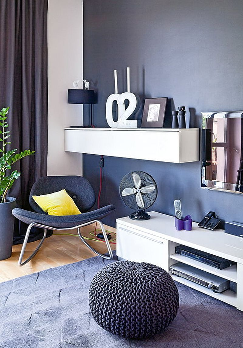 adelaparvu.com despre apartament de doua camere indraznet amenajat, design interior Cablepower, Foto Marcin Czechowicz (3)