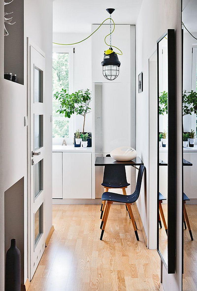 adelaparvu.com despre apartament de doua camere indraznet amenajat, design interior Cablepower, Foto Marcin Czechowicz (5)