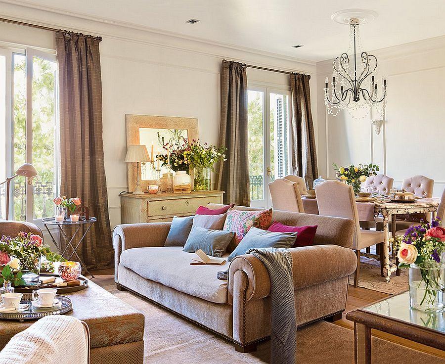 adelaparvu.com despre apartament in cladire veche, casa Spania, design interior Rosa Maria Escofet, Foto ElMueble (1)
