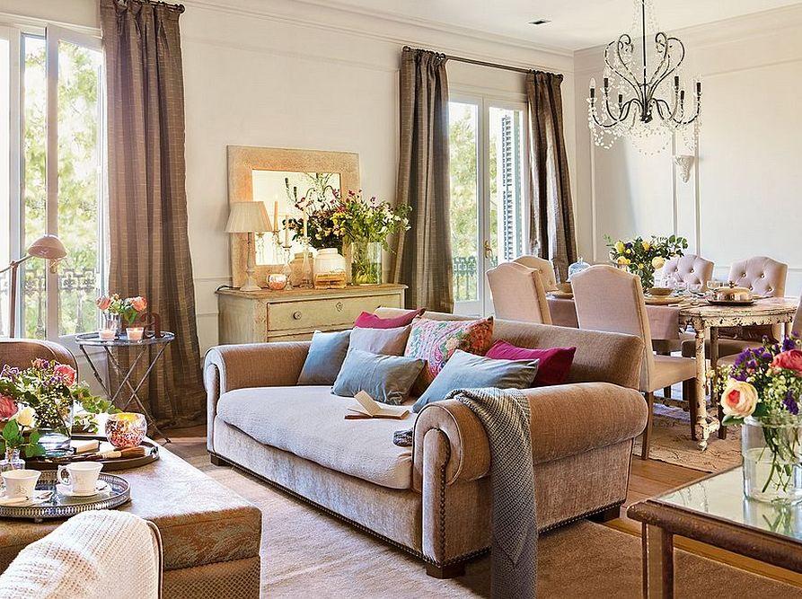 adelaparvu.com despre apartament in cladire veche, casa Spania, design interior Rosa Maria Escofet, Foto ElMueble (2)