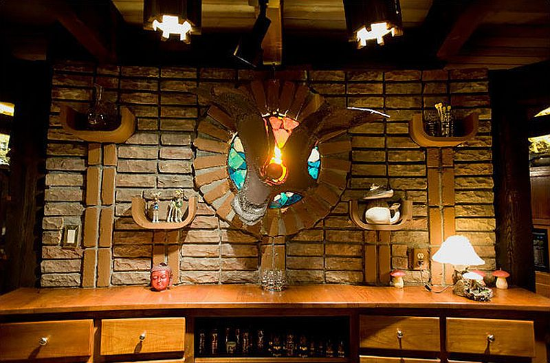 adelaparvu.com despre casa circulara in Aspen, casa SUA, foto NYT, Michael Brands (9)
