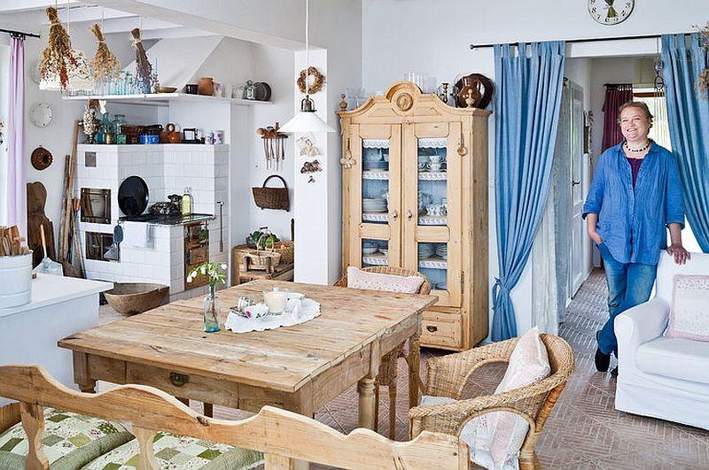adelaparvu.com despre casa de artist, casa rustica Polonia, design interior Kinga Chromy (9)