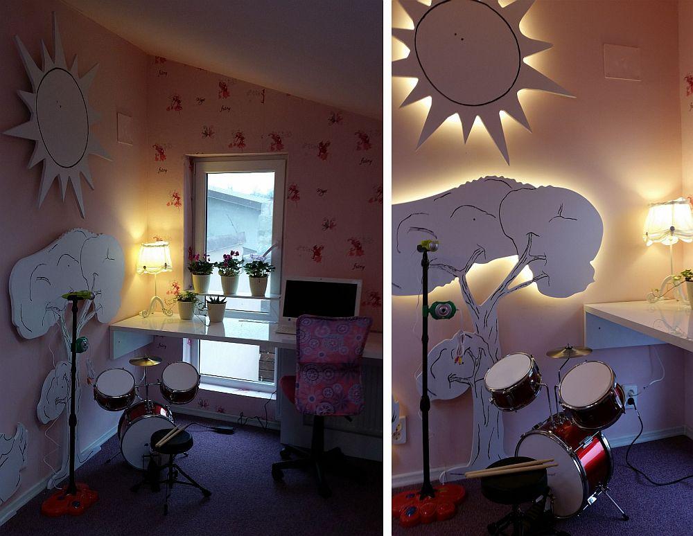 Aici Poi Vedea Diferena Dintre Trafourile Cu Luminile LED Din Spate Stinse I Apoi Urile Aprinse