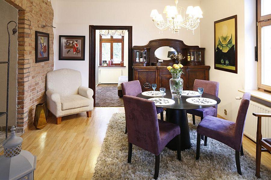 adelaparvu.com despre casa moderna cu piese de mobila clasice, Foto Urzadzamy (1)
