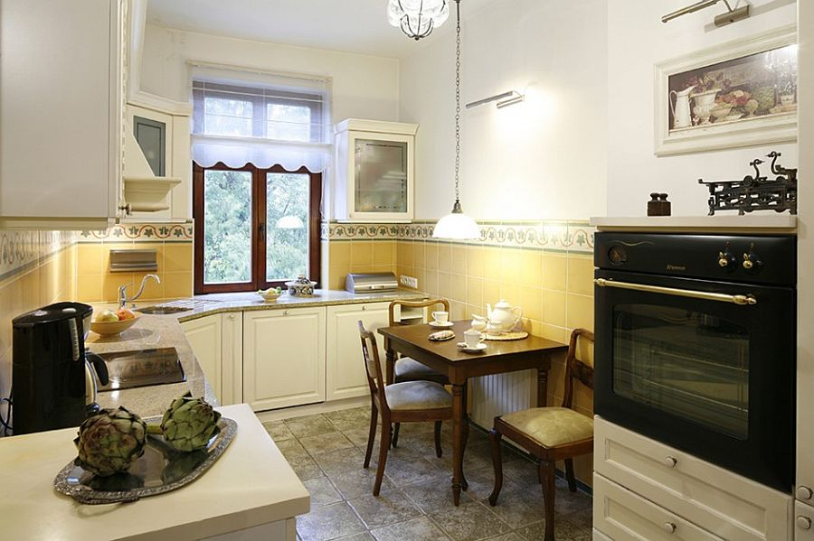 adelaparvu.com despre casa moderna cu piese de mobila clasice, Foto Urzadzamy (11)