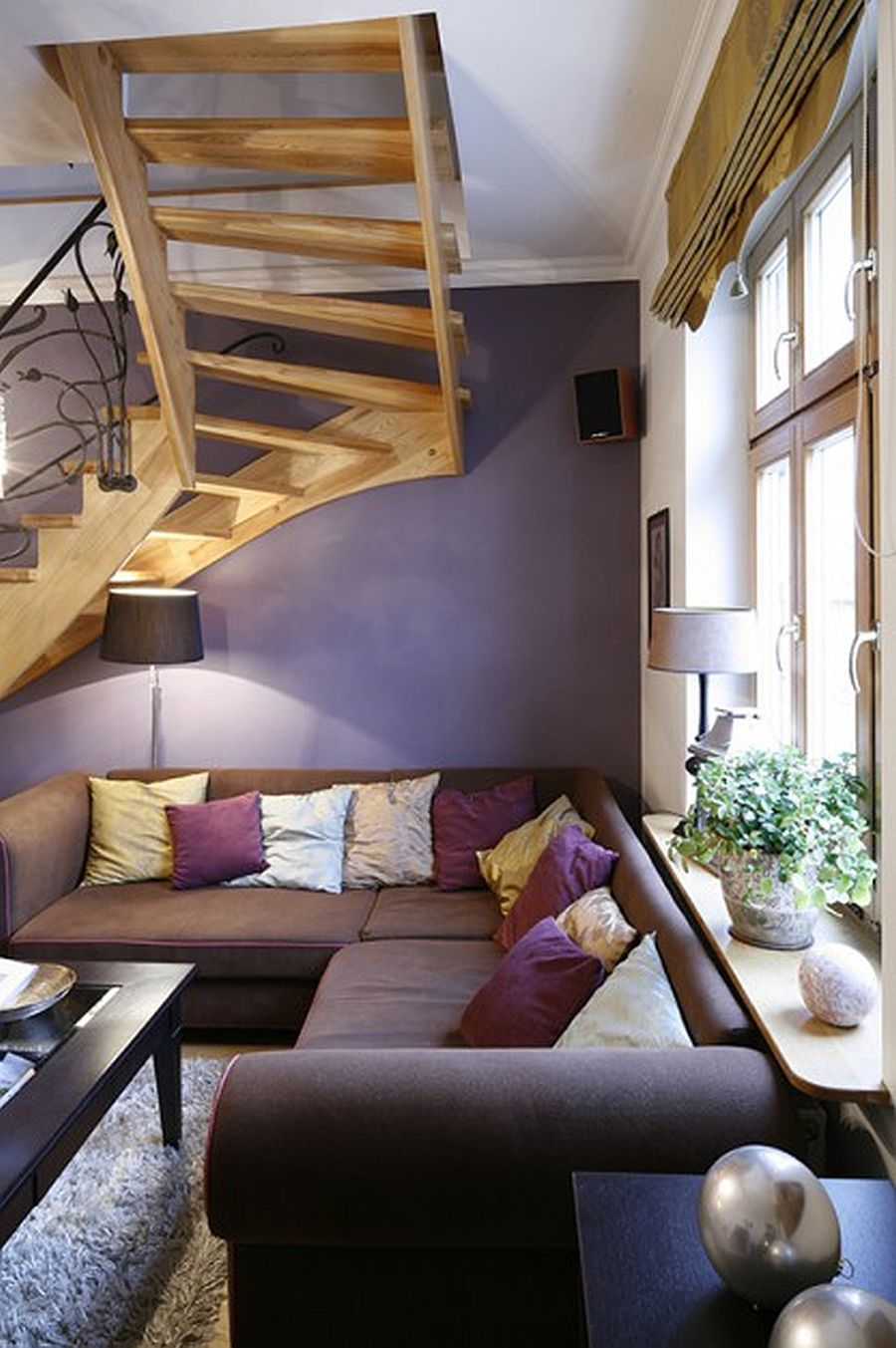 adelaparvu.com despre casa moderna cu piese de mobila clasice, Foto Urzadzamy (3)