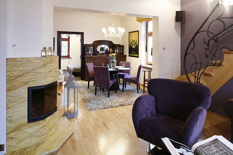 adelaparvu.com despre casa moderna cu piese de mobila clasice, Foto Urzadzamy (4)